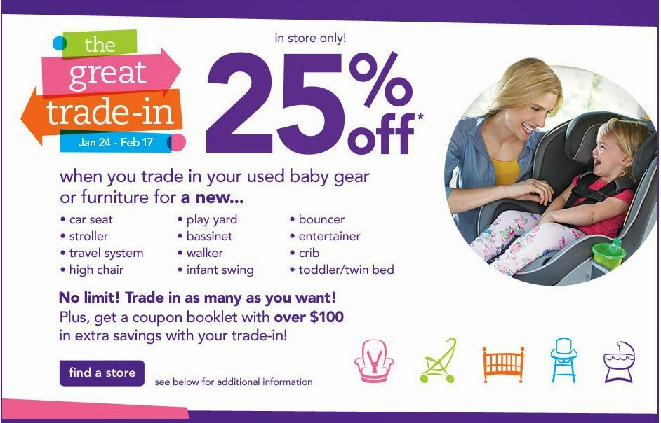 15% Off Any One Baby Gear Or Furniture Item [Exp