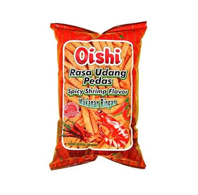 Oishi Cracker Udang Pedas