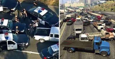 ילד בן 11 השתתף במרדף משטרתי עם רכב גנוב; הוא עשה זאת מיד לאחר ששיחק ב-GTA V