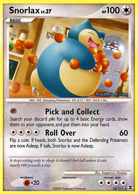 Snorlax -- Rising Rivals Pokemon Card Review | Primetime ...