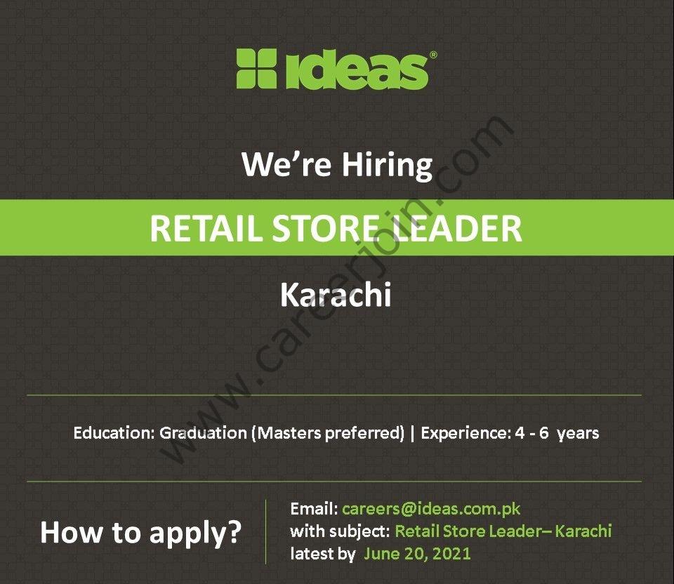 Ideas by Gul Ahmed Jobs June 2021 in Pakistan - Apply via careers@idea.com.pk