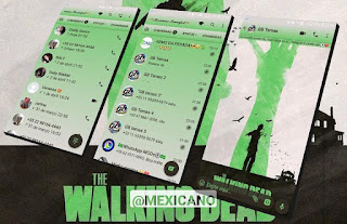 The Walking Dead Theme For GBWhatsApp By Mexiacano
