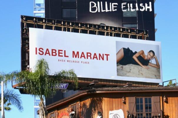 Isabel Marant Spring 2019 billboard