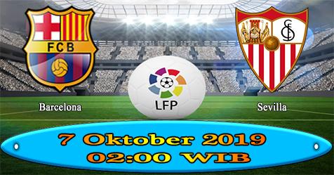 Prediksi Bola855 Barcelona vs Sevilla 7 Oktober 2019