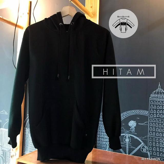 Model Jaket Sweater Black cewek dan cowok kekinian