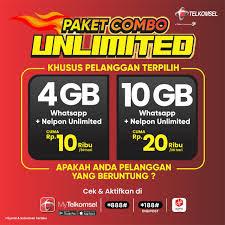 Combo Unlimited Telkomsel