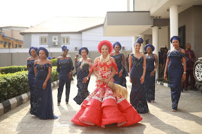 Linda Ejiofor and Ibrahim Suleiman traditional wedding photos
