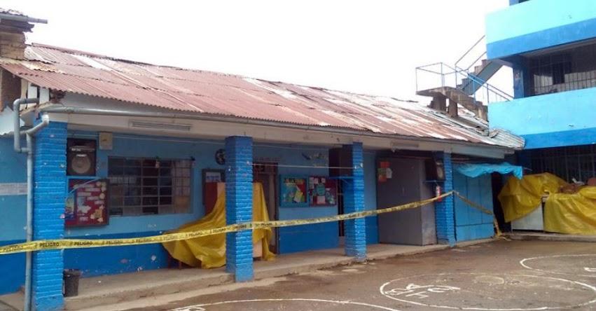 PRONIED intervendrá institución educativa con muro colapsado en Huancayo - www.pronied.gob.pe