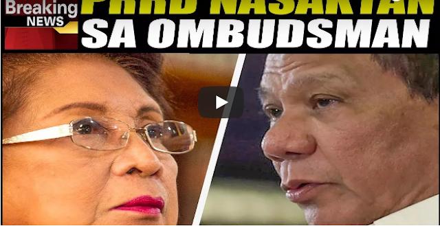 Pres. Duterte Aminadong Nasaktan Na Sa Mga Tirada Ng Ombudsman