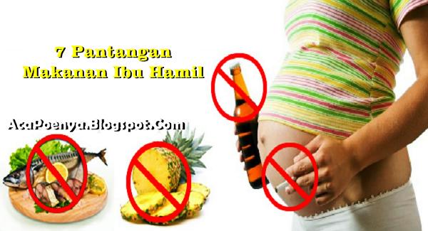 Pantang Makanan Bagi Ibu Hamil