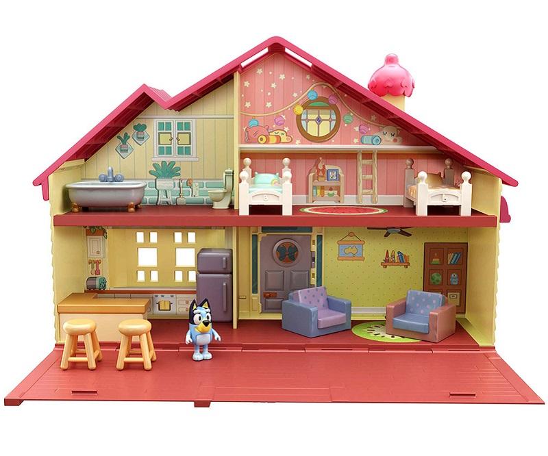 bluey family dollhouse play set