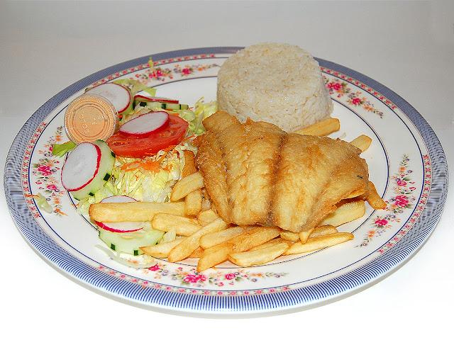 filete de pescado al kion