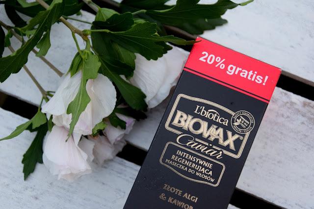 Jaka maseczka intensywnie zregeneruje włosy? || L'biotica BIOVAX Caviar