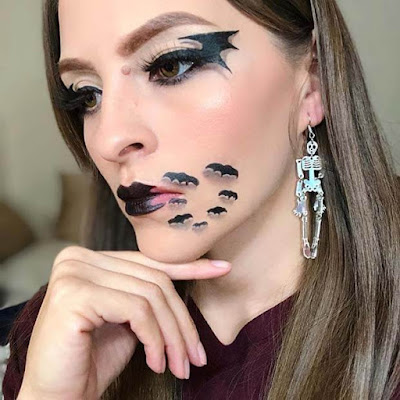 of Best Scary Bat Makeup Artist For Halloween  ✘ 25+ Best Scary Bat Makeup Artist For Halloween 2020