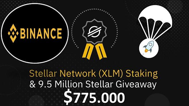 Binance hỗ trợ Stellar Staking