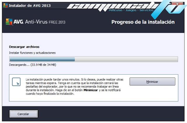 AVG Free Antivirus 2013