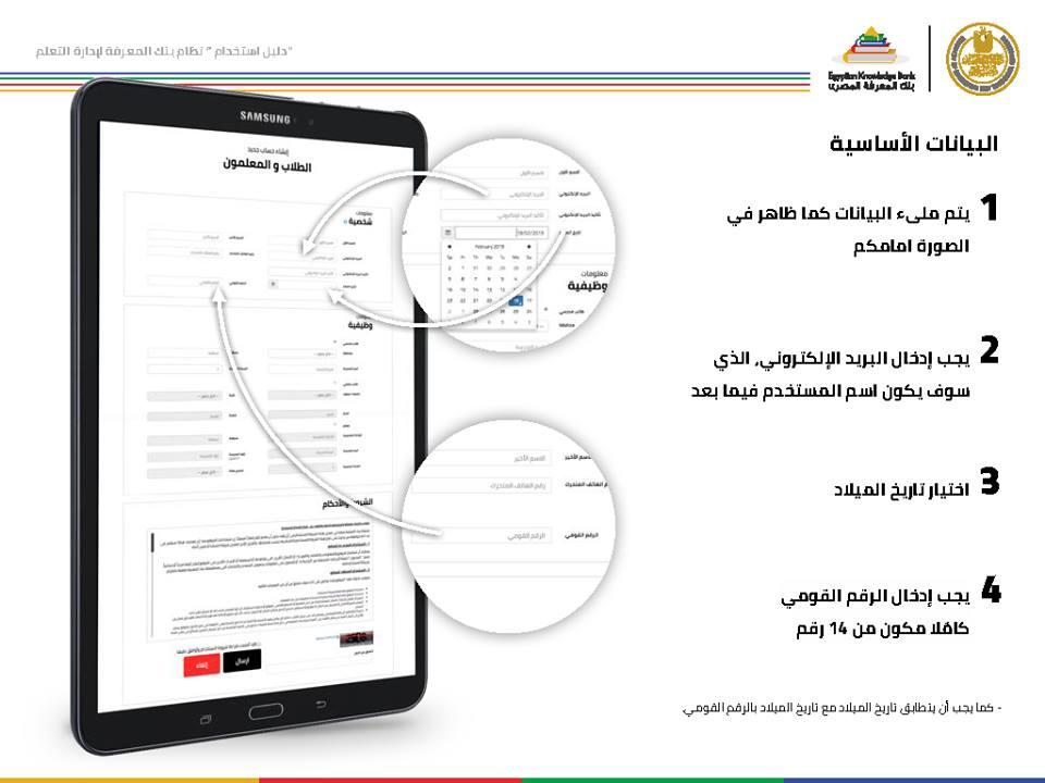 دليل استخدام بنك المعرفة المصري لطلاب الصف الأول الثانوي وكيف يحقق الطالب اكبر استفادة منه ؟ 3