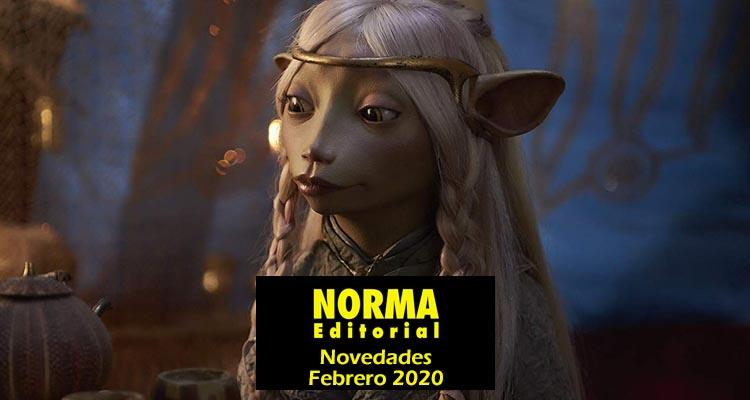 Norma Editorial: Novedades Febrero 2020
