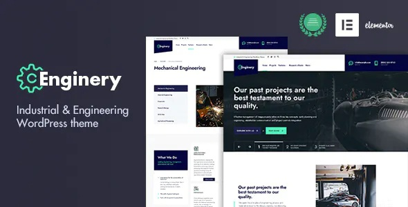 Best Industrial and Engineering WP theme