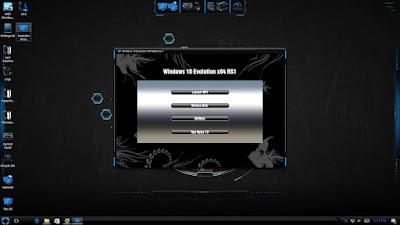 โหลด Windows 10 Evolution x64 RS1 ตัวเต็ม