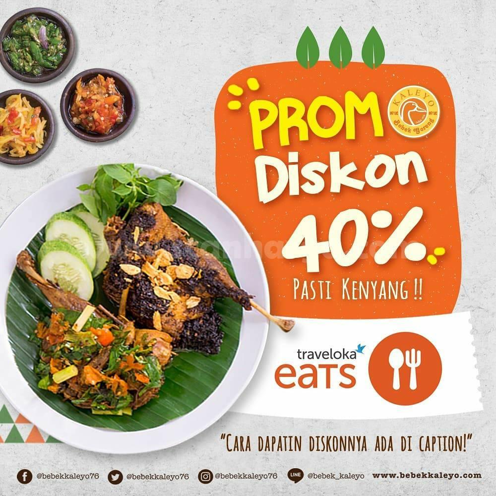 Bebek Kaleyo Promo Traveloka Eats Diskon hingga 40%