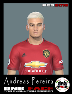 PES 2019 Faces Andreas Pereira by DNB