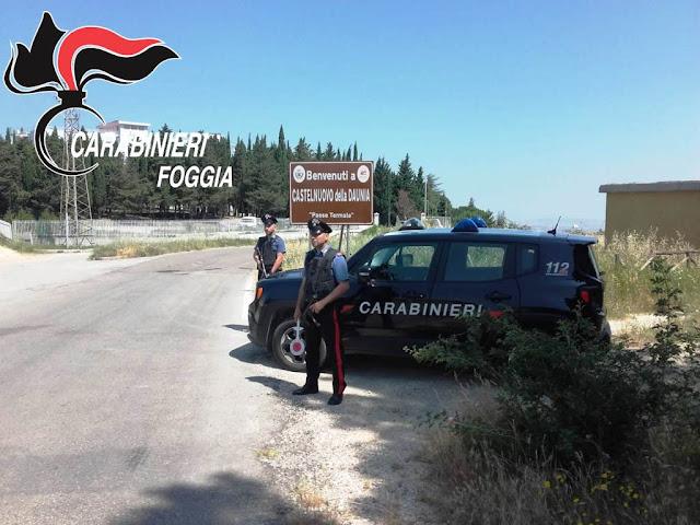 """In un solo colpo i Carabinieri di Lucera risolvono e arrestato il topo d'appartamento """"seriale"""" temuto a Castelnuovo della Daunia. E' un 47enne del luogo"""