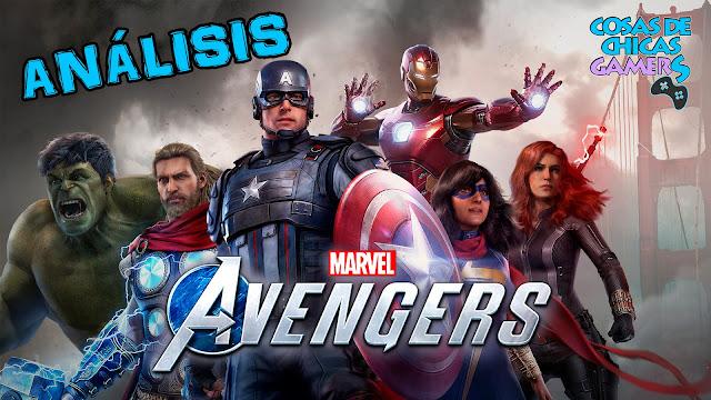 Marvel's Avengers - Portada