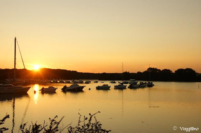 Il tramonto sulla Presqu'ile de Conleau