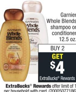 Garnier Whole Blends Shampoo or Conditioner