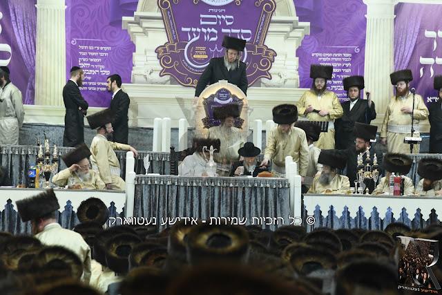 סיום סדר מועד במסגרת עמוד היומי בתולדות אהרן בהיכל בית המדרש הגדול בירושלים