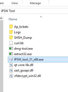 ios 10.3 3 firmware key