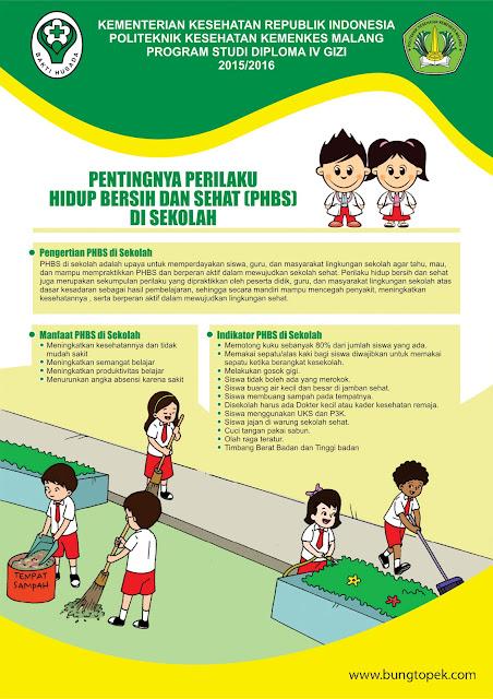 Poster PHBS Sekolah