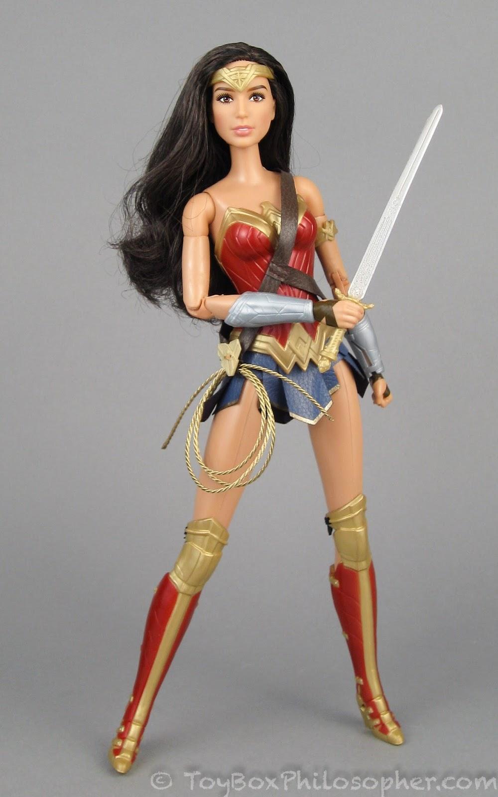 The Black Label Barbie Wonder Woman Dolls  The Toy Box -7661