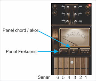 gambar tuner android gitar
