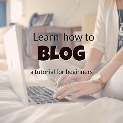 Learn how to blog