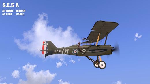 Arma3用RAF S.E.5aアドオン