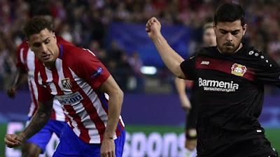 مباراة أتلتيكو مدريد وباير ليفركوزن بجودة اتش دي