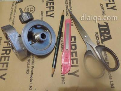 peralatan untuk membuat gasket (packing)
