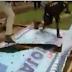 VIDEO: Yahaya Bello's billboards pulled down in Lokoja