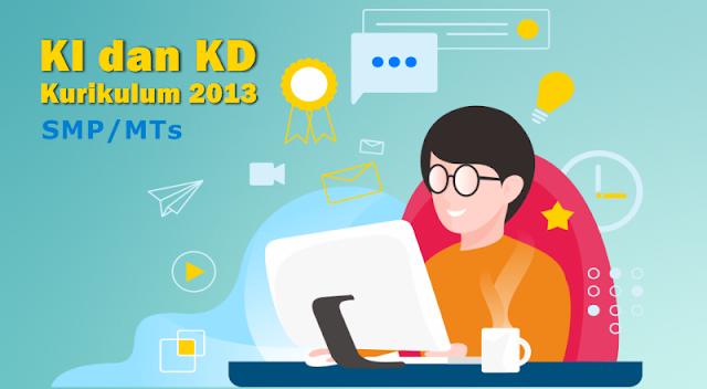 KI dan KD SMP MTs Kurikulum 13 Revisi Terbaru Tahun 2020-2021