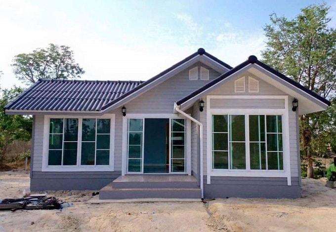 Poto Rumah Sederhana Di Kampung