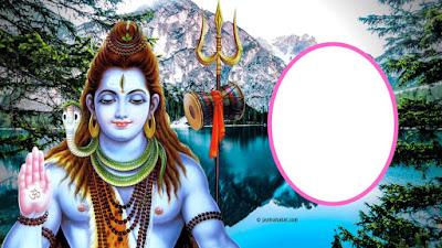Mahakal photo frame online editor