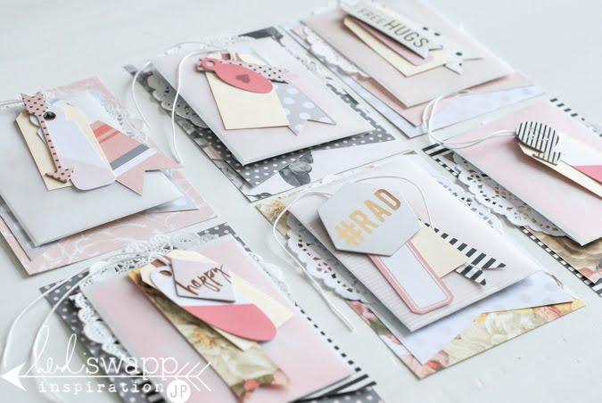 Heidi Swapp Minc Valentines Cards | @jamiepate for @heidiswapp