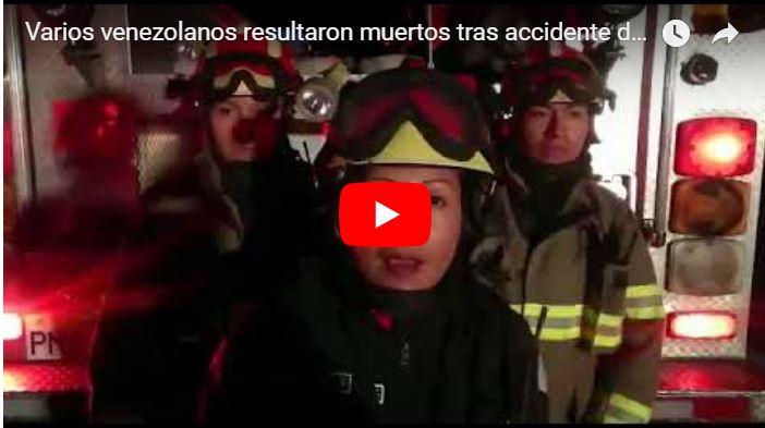 Varios venezolanos muertos tras accidente de autobús en Ecuador