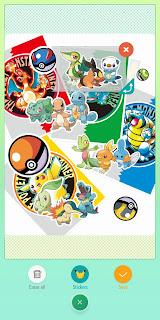 Stickers Pokémon HOME