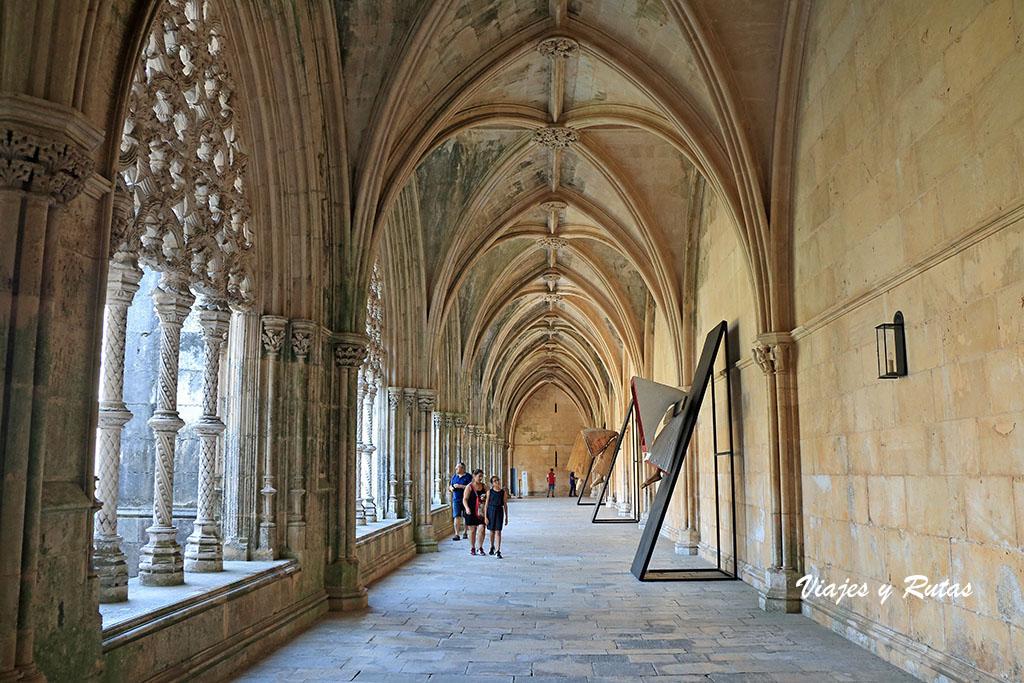 Claustro real del Monasterio de Batalha, Portugal