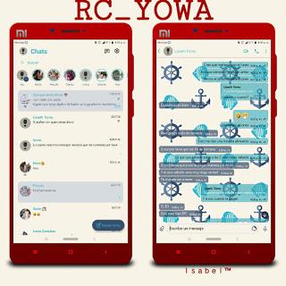 Lightfish Theme For YOWhatsApp & Fouad WhatsApp