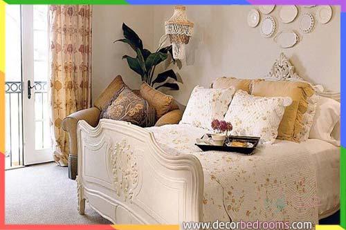 لون كراميل غرفة نوم ازواج