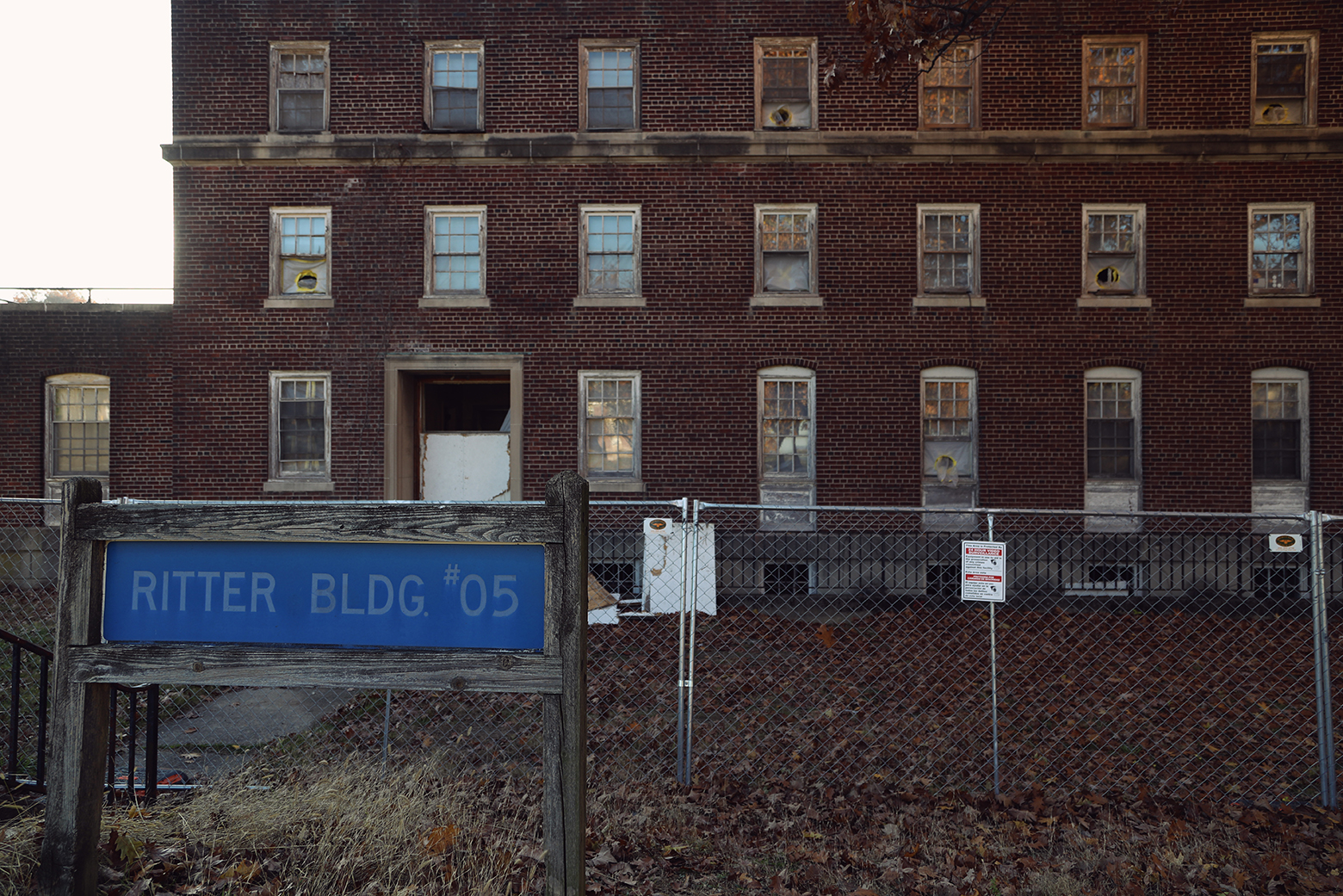Allentown State Hospital - Ritter Building